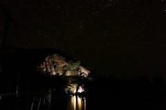 Миллион звезд Стоковые Фото
