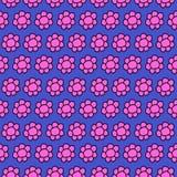 Милое изображение неизрасходованного запаса королевской власти картины повторения Seamles цветка Стоковая Фотография