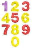 Милое и красочное пластичное письмо алфавита Стоковые Изображения RF