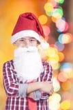 Милое маленькое Санта Стоковые Фотографии RF