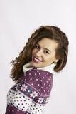 Девушка усмешки Стоковое Изображение RF