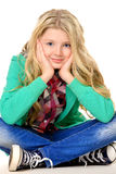 Милое предназначенное для подростков Стоковые Фотографии RF