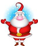 Милое рождество Санта Клаус иллюстрация вектора