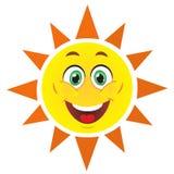 милое солнце Стоковая Фотография