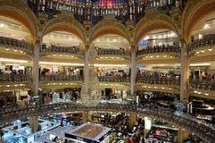 Милое Galeries Lafeyette Стоковые Фото
