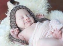 милое newborn Стоковая Фотография RF