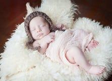 милое newborn Стоковое Фото