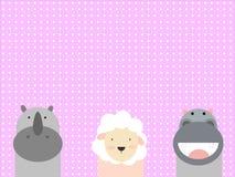 Милые животные Стоковые Фото