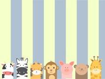 Милые животные Стоковые Изображения