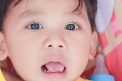 Милые жизнерадостные дети Стоковое Изображение RF