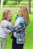 Милые 2 играя девушки Стоковые Фото