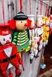 Милые маленькие игрушки Стоковые Изображения RF