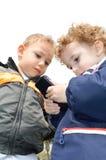 милые малыши 2 Стоковые Изображения