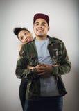Милые молодые пары в влюбленности стоковые фото