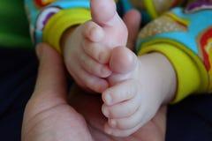 Милые ноги младенца Стоковое фото RF