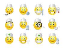 Милые доктора smiley Стоковые Изображения RF