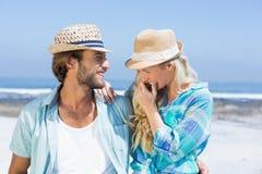 Милые пары на прогулке Стоковое Фото