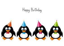 милые пингвины иллюстрация вектора