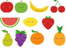 Милые плодоовощи Clipart Стоковое фото RF