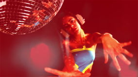 Милые танцы женщины акции видеоматериалы