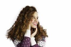 Девушка усмешки Стоковые Изображения RF