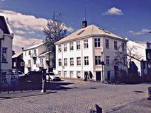 Милые улицы города Стоковое фото RF