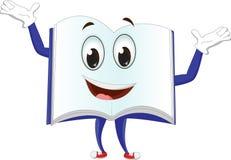 Милые характеры талисмана книг Стоковые Фото