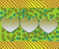 Милый абстрактный дизайн Стоковые Фото
