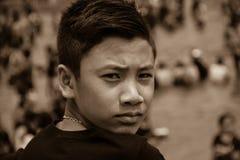 Милый азиатский парень Стоковое Фото