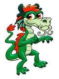 Милый азиатский дракон Стоковая Фотография