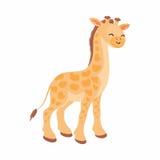 Милый африканский жираф Стоковое Фото