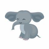Милый африканский слон Стоковая Фотография RF