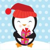 милый вектор пингвина иллюстрации Стоковые Фото