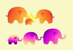 милый вектор слона Стоковая Фотография