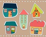 милый городок Стоковая Фотография RF