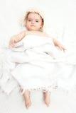 Милый играть младенца Стоковые Фото