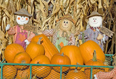 Милый дисплей хеллоуина Стоковая Фотография RF