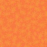 Милый и ультрамодный цветочный узор с тюльпанами, цветками мака и ягодами Стоковое Фото