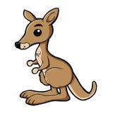 Милый кенгуру Стоковые Изображения
