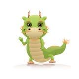 Милый китайский дракон Стоковые Изображения RF