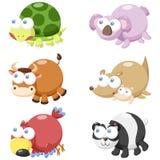 Милый комплект животного Стоковые Изображения
