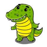 Милый крокодил иллюстрация вектора
