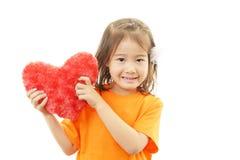 Милый маленький азиатский усмехаться девушки стоковое фото