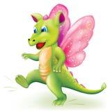 Милый маленький дракон младенца Стоковая Фотография RF