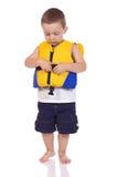 Милый маленький sporty мальчик стоковые фото