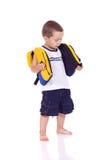 Милый маленький sporty мальчик стоковое фото rf