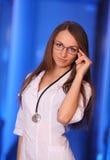 Милый молодой доктор Стоковая Фотография RF