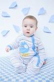 Милый младенец в питомнике Стоковое Изображение RF
