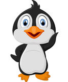 милый пингвин шаржа Стоковое Фото
