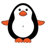 милый пингвин шаржа Стоковое Изображение RF